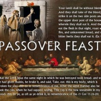 "Passover or ""The Lord's Supper"" Re-Blog from 2020"