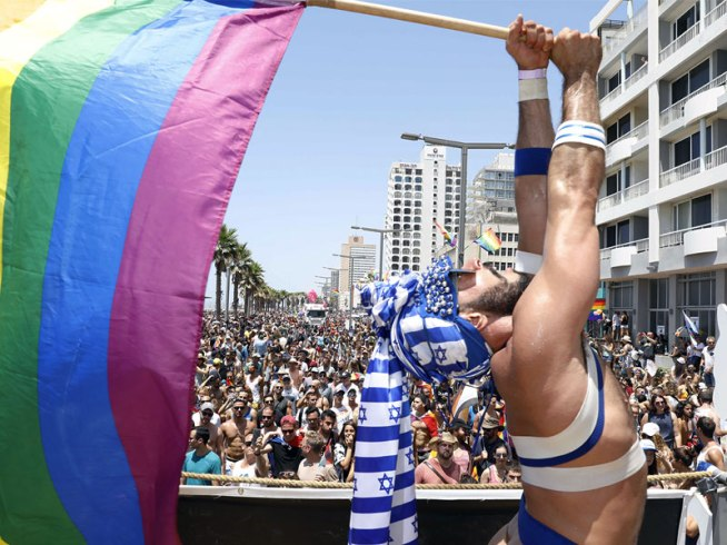 "Gay Pride 2017 in Tel Aviv - ""the World's Gayest City."""