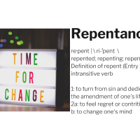Repentance, what does the bible say about it?